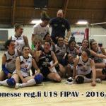 CAMPIONESSE REG.LI U18 FIPAV 2016-2017
