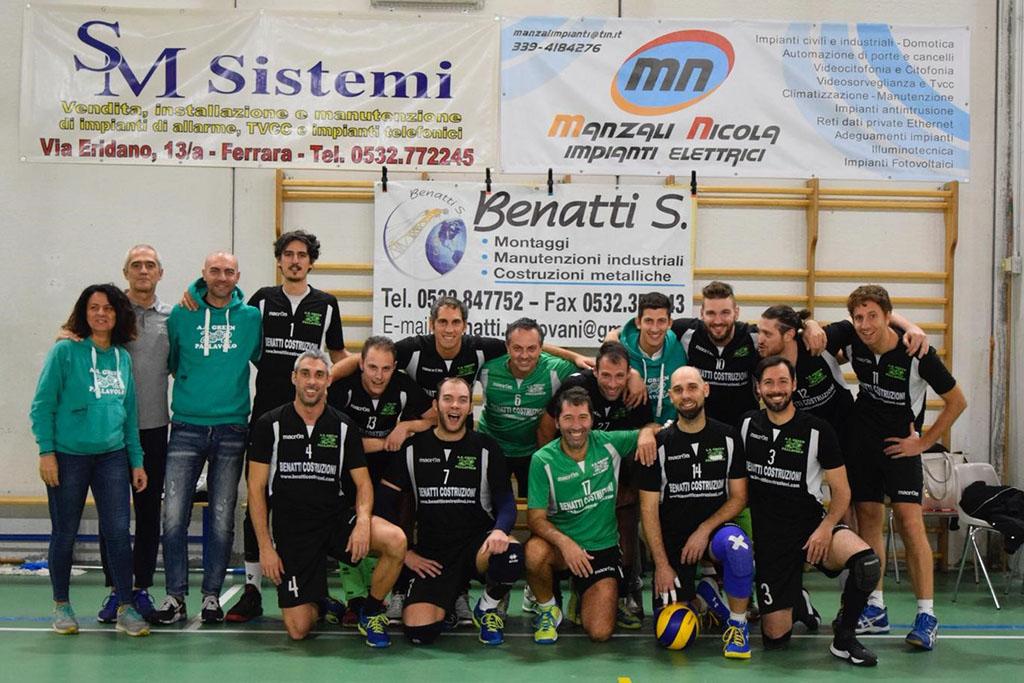 """Serie D maschile """"BENATTI COSTRUZIONI - COM VER"""""""